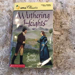 Emily Bronte's Wuthering Heights classic book